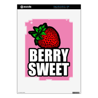Berry Sweet Decals For iPad 2