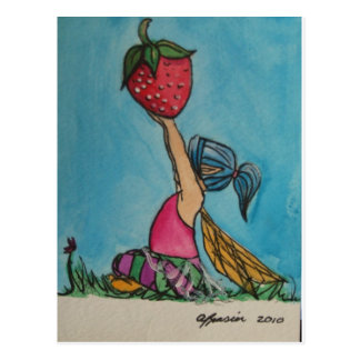Berry Sweet Postcard