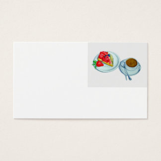 Berry Tart and Espresso Business Card