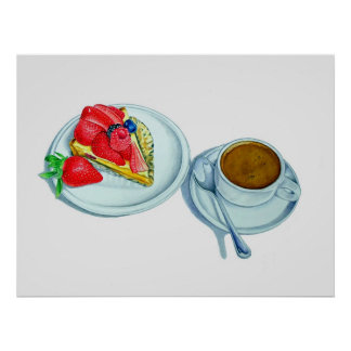 Berry Tart and Espresso Print