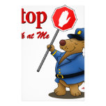 berry the bear customized stationery