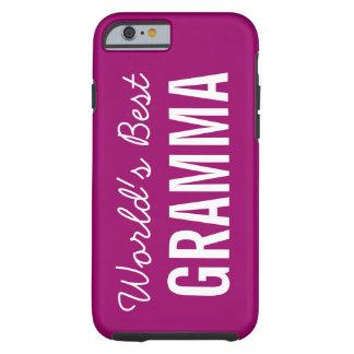 Berry World's Best Gramma Custom iPhone 6 Case