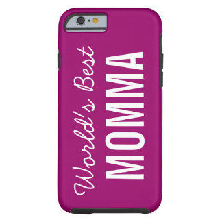 Berry World's Best Momma Custom iPhone 6 Case
