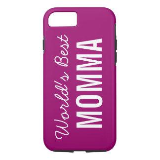 Berry World's Best Momma Custom iPhone 7 Case