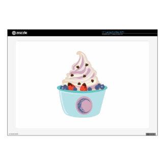 Berry Yogurt Decals For Laptops