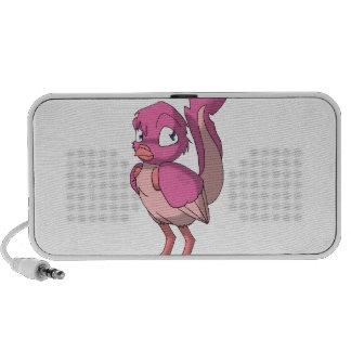Berry Yogurt Reptilian Bird Notebook Speaker