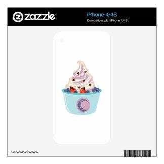 Berry Yogurt Skin For The iPhone 4S