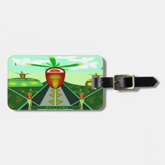 Berryair Airport Fantasy Custom Luggage Tag