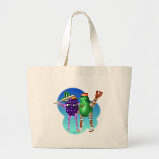 BerryBot & AvocadoBot FUDEBOTS by Valxart Tote Bags