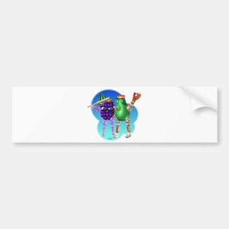 BerryBot & AvocadoBot FUDEBOTS by Valxart Bumper Sticker