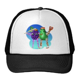 BerryBot & AvocadoBot FUDEBOTS by Valxart Mesh Hat