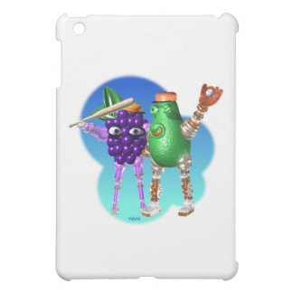BerryBot AvocadoBot FUDEBOTS by Valxart iPad Mini Covers