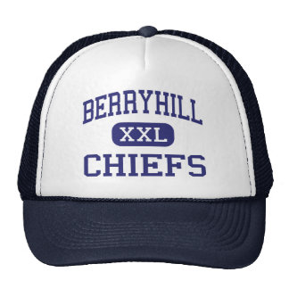 Berryhill - Chiefs - High School - Tulsa Oklahoma Trucker Hat