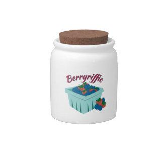 Berryriffic Carton Candy Jar
