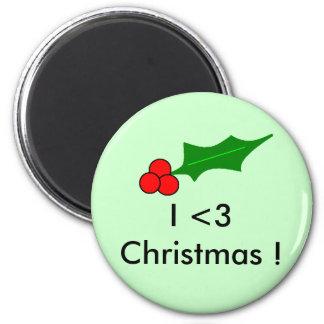 Berrys I 3 Christmas Refrigerator Magnets