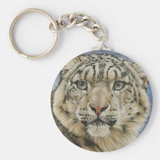 Berry's Snow Leopard Keychain