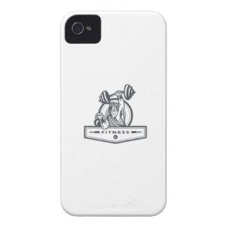 Berserker Lifting Barbell Kettlebell Fitness Circl iPhone 4 Case-Mate Case