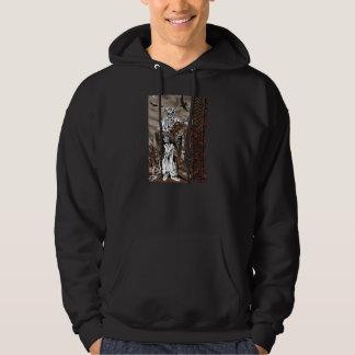 Berserker semicover hoodie