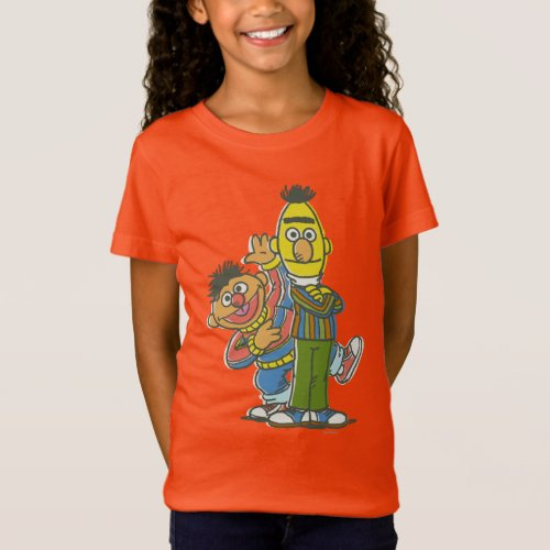 Bert and Ernie Classic Style T_Shirt