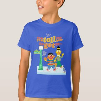Bert and Ernie Directions T-Shirt