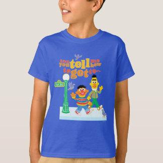 Bert and Ernie Directions T-Shirt