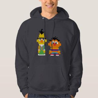 Bert and Ernie Pixel Art Hoodie