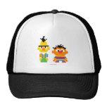 Bert and Ernie Pixel Art Trucker Hat