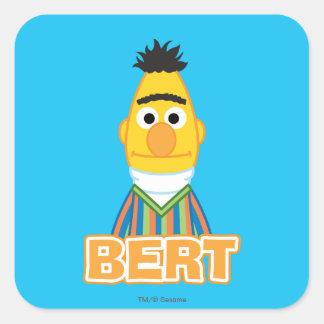 Bert Classic Style Square Sticker
