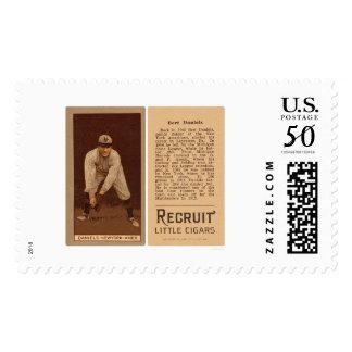 Bert Daniels Yankees Baseball 1912 Postage