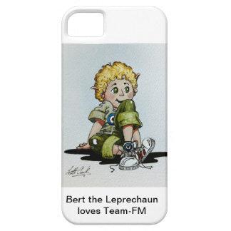 Bert el Leprechaun ama el caso del iPhone de Equip iPhone 5 Case-Mate Protectores