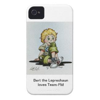 Bert el Leprechaun ama el caso del iPhone de Equip Case-Mate iPhone 4 Coberturas