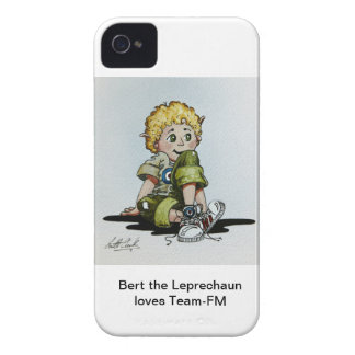 Bert el Leprechaun ama el caso del iPhone de iPhone 4 Case-Mate Funda