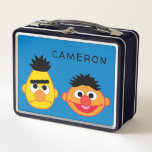"""Bert &amp; Ernie Emojis Metal Lunch Box<br><div class=""""desc"""">Express yourself with this Sesame Street Emoji       This item is recommended for ages 2 . &#169;  2014 Sesame Workshop. www.sesamestreet.org</div>"""