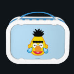 """Bert Face with Tears of Joy Lunch Box<br><div class=""""desc"""">Express yourself with this Sesame Street Emoji       This item is recommended for ages 2 . &#169;  2014 Sesame Workshop. www.sesamestreet.org</div>"""