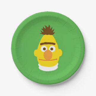 Bert hace frente plato de papel de 7 pulgadas