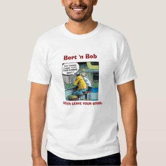 """Bert """"n"""" Bob, los individuos del comensal Camisas"""