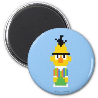 Bert Pixel Art 2 Inch Round Magnet