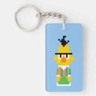 Bert Pixel Art Rectangle Acrylic Key Chains