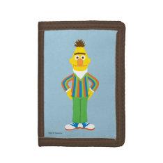 Bert Standing Tri-fold Wallets at Zazzle