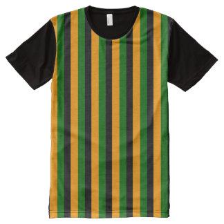 bert striped All-Over-Print shirt