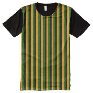 bert stripes All-Over-Print shirt