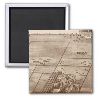 Bertch ranch 2 inch square magnet