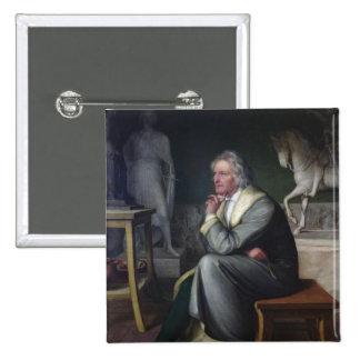 Bertel Thorvaldsen in his studio at Rome, 1834 Pin