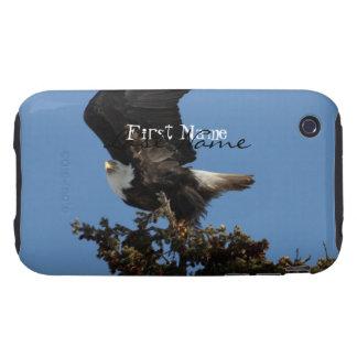 BERTF Bald Eagle Ready to Flee Tough iPhone 3 Cover