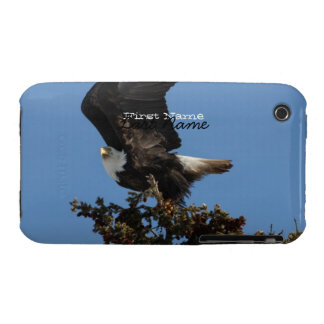BERTF Bald Eagle Ready to Flee iPhone 3 Case