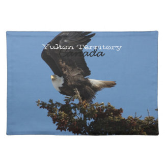 BERTF Bald Eagle Ready to Flee Cloth Placemat
