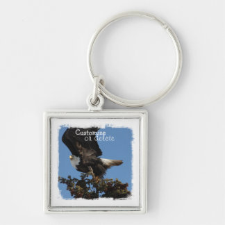 BERTF Bald Eagle Ready to Flee Keychain