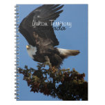 BERTF Bald Eagle Ready to Flee Spiral Note Book