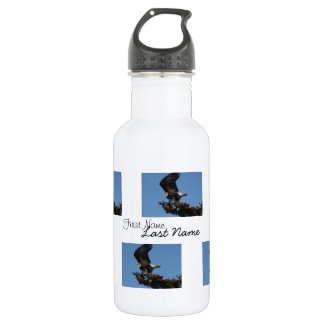 BERTF Bald Eagle Ready to Flee Stainless Steel Water Bottle