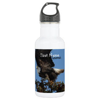 BERTF Bald Eagle Ready to Flee Water Bottle